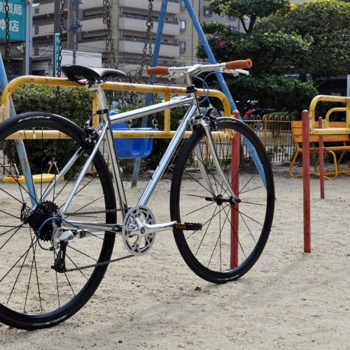 自転車のある生活 - FUJI Ballad Ωをカスタマイズ