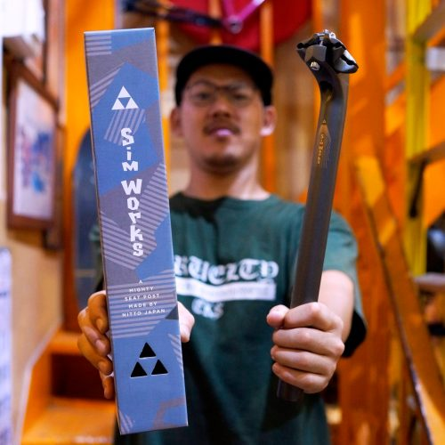 *新入荷情報「SIMWORKS by NITTO Froggy Stealth Seatpost」