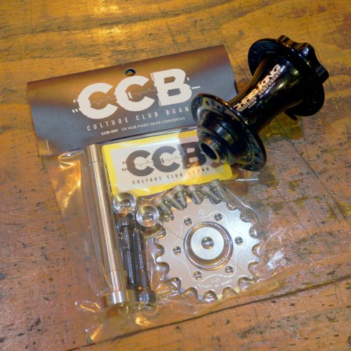 【How to Install】CCB-001 CK Hub Fixed Gear Converter