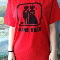 Pánske tričko GAME OVER