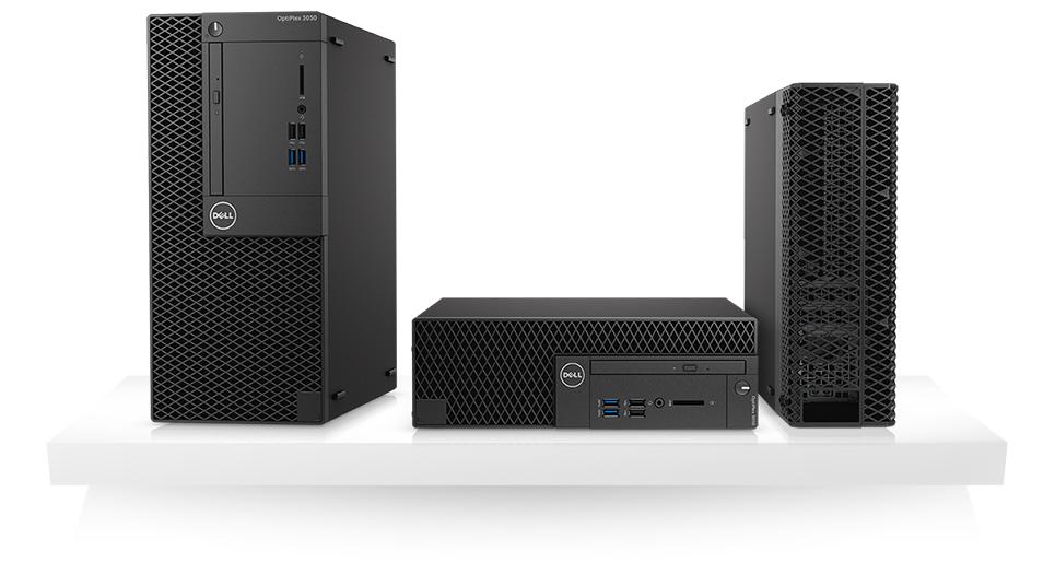 OptiPlex 3050 Small Form Factor: Business critical performance, smaller design.