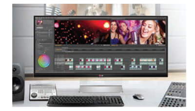 IMPROVE EFFICIENCY OF PHOTO EDITINGWITH THE 21:9 ULTRAWIDE RATIO