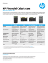HP 12C Financial Calculator Platinum Edition By Office