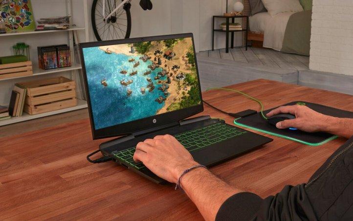 slide 2 of 6,show larger image, hp pavilion gaming - 15-dk0003nq