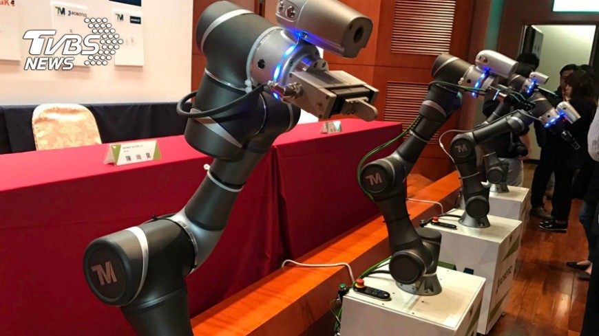廣明獨創全球自有品牌機器人 瞄準商機│TVBS新聞網