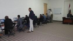 تم أجراء أختبار أمتحان كفاءة الحاسوب وكفاءة اللغة الأنكليزية بتاريخ 30/1/2017