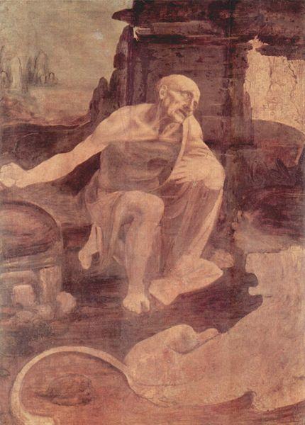 Леонардо да Винчи. Святой Иероним