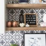 Affordable Ceramic Patterned Tile Backsplash 1 6 Cc Mike