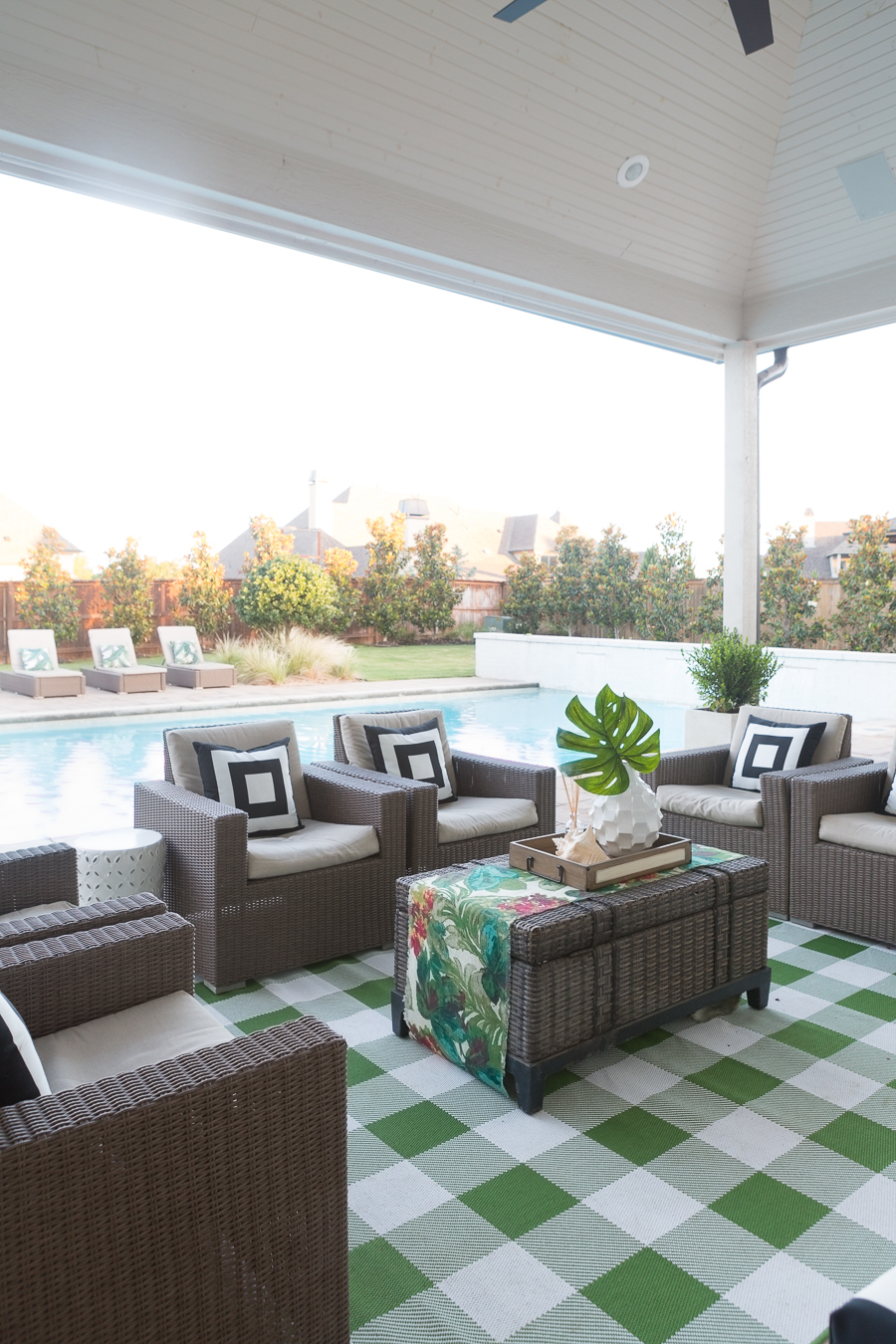 How to Design a Beautiful Pool and Outdoor Living Area ... on Cc Outdoor Living id=75433