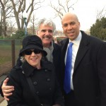With Newark Mayor Corey Booker at Inauguration 2013