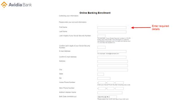 Avidia Bank enroll 5