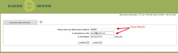 Baker Boyer Password2