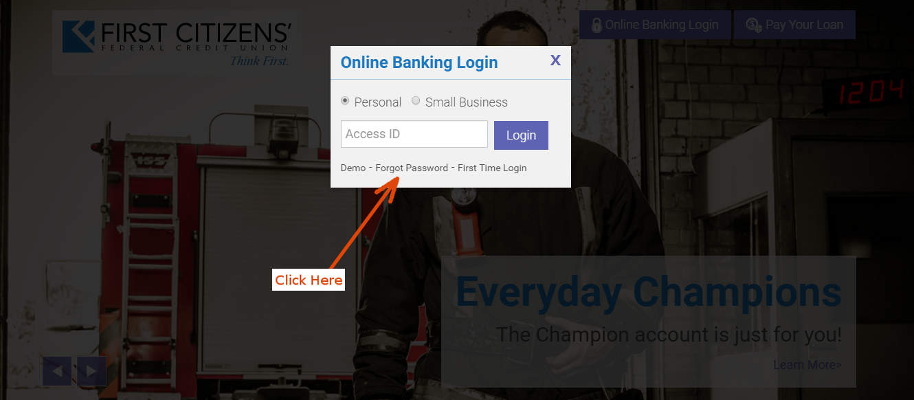 First Citizen Bank Online Banking Personal
