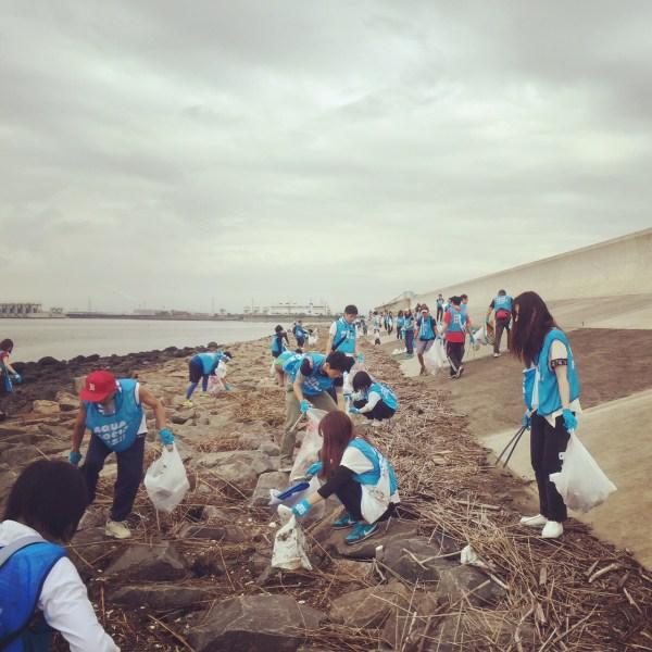 AQUA SOCIAL FES!! 藤前干潟を清掃しよう!