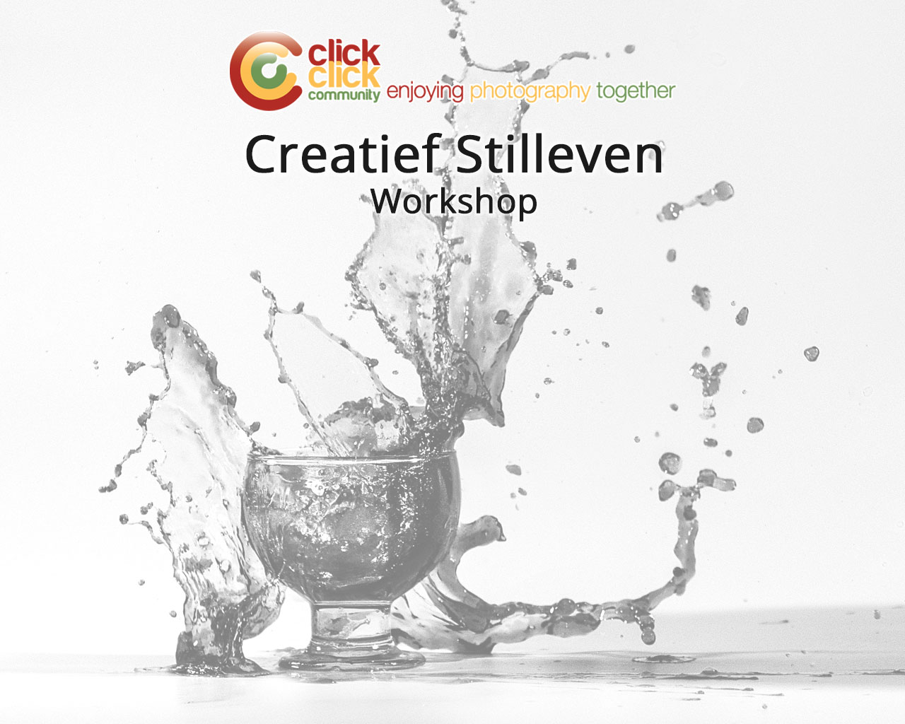 Creatief Stilleven Workshop by CCC FotoUnie
