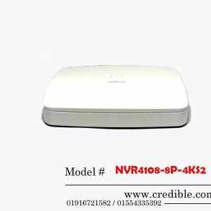 Dahua NVR NVR4108-8P-4KS2