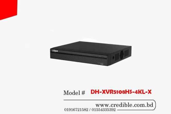 Dahua XVR DH-XVR5108HS-4KL-X