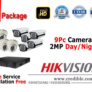 Hikvision CCTV Package 9Pcs