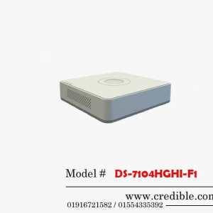 Hikvision DVR DS-7104HGHI-F1