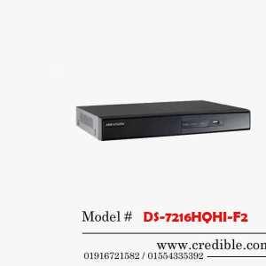 Hikvision DVR DS-7216HQHI-F2