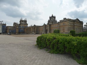 Blenheim palace - the servant's wing
