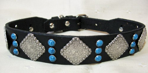 Leather Dog Collars at CCC Berry Bow Wow 175