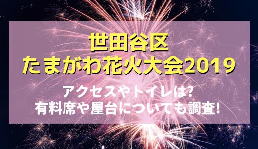 世田谷区たまがわ花火大会2019アクセスやトイレは?有料席や屋台についても調査!