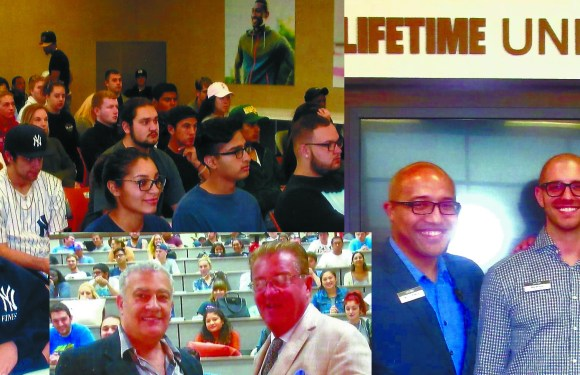 Marketing VIPs visit Nassau Community College