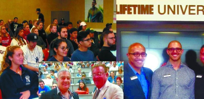 Marketing VIPs visit Nassau Community College