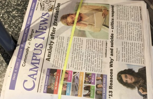 The early summer issue of Campus News is here and it's sunny and bright!