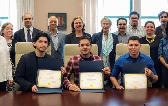 Three LaGuardia students get amazing scholarships!
