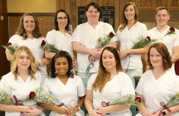 JCC nurses pinning ceremony