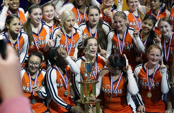Nassau cheerleaders place first in nationals