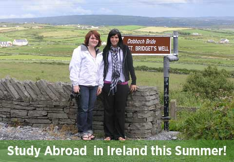 Earn 3 credits in Ireland!