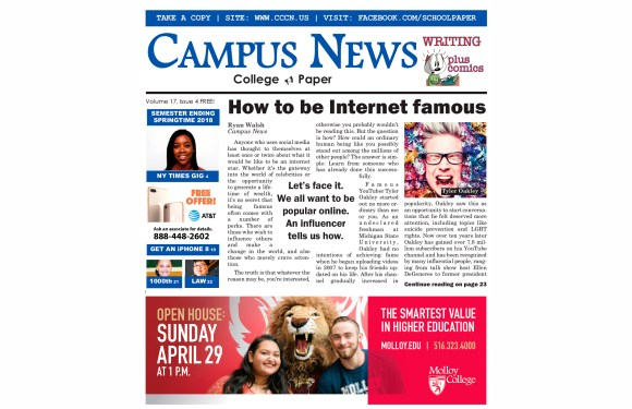 Be an Internet Star — READ THE LATEST ISSUE!