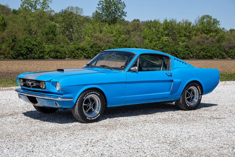 Grabber Blue 1966 Ford Mustang For Sale MCG Marketplace
