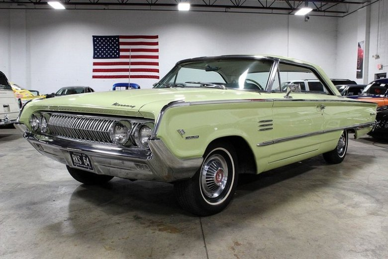 Yellow Mist 1964 Mercury Marauder For Sale | MCG Marketplace