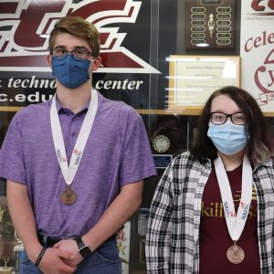 CCCTC Information Technology Students Place Third in SkillsUSA State Competition