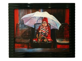 Oil on Wood 16 x 20 inches Retail: $1,800.00 Starting Bid: $1,500.00 - Click to Purchase Tickets