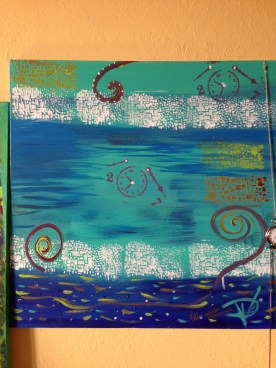 Acrylic 18 x 18 inches Retail: $960.00 Starting Bid: $480.00 - Click to Purchase Tickets
