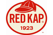 Red Cap Work Wear Logo