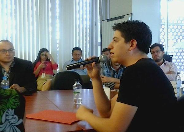 Andrés Delgado de CC Ecuador interviene en la Comisión General