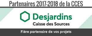 Bannière Partenaires 2017-2018 de la CCES