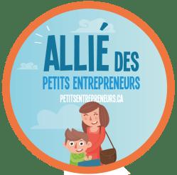 Pastille Allié des petits entrepreneurs