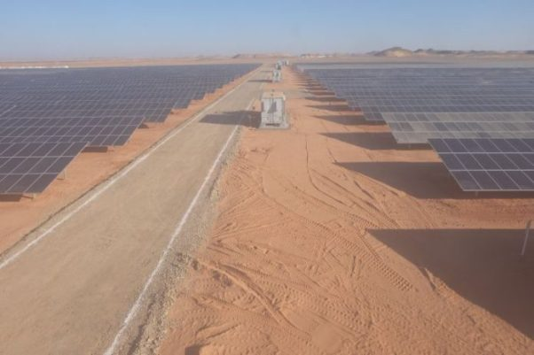 Egypt constructs world's largest solar park in Benban