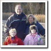 Roger & Robin Harsh and family