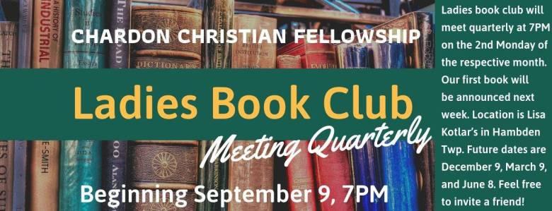 CCF Ladies Book Club 2019