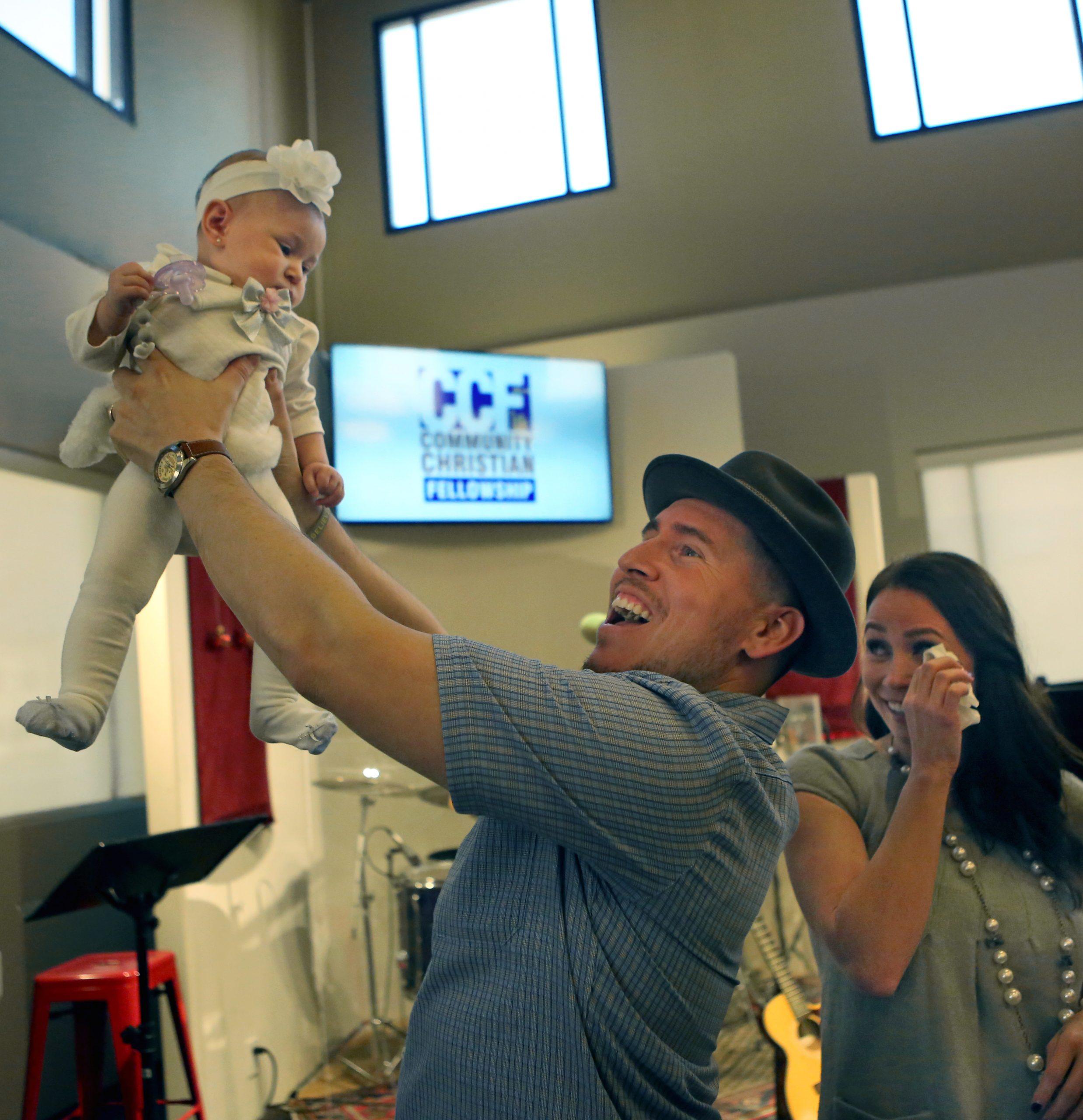 Baby Dedication, Ophelia B. Enriquez 12.17.17 Photos by KAREN TAPIA & GREG ANDERSEN