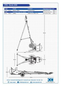 cable Percussion rig spec