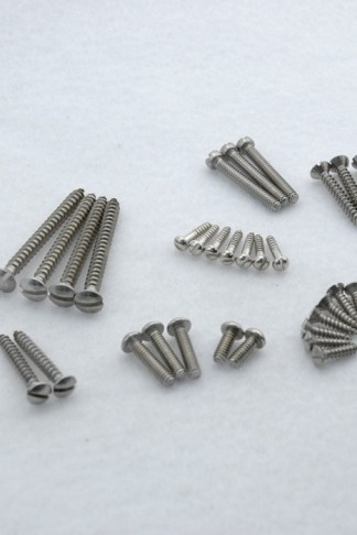 Callaham Slotted Head Stainless Steel Screw Kit